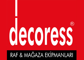 Decoress Raf ve Mağaza Ekipmanları